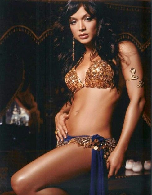 Mayte Garcia, former wife of Prince, currently on Hollywood Exes. I think she's beautiful and SO HOT.