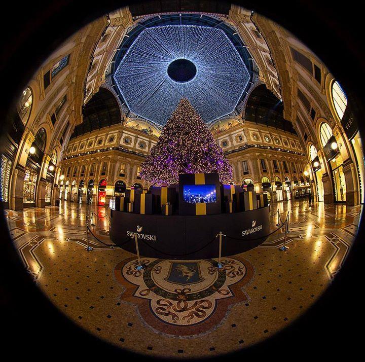 Una pallina natalizia che tutti vorremmo appendere al nostro albero... Foto di Franco Brandazzi #milanodavedere Milano da Vedere