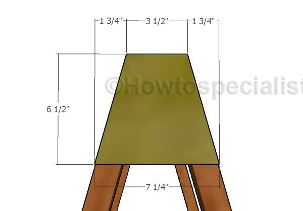 Stackable Sawhorse Plans | HowToSpecialist - How to Build, Step by Step DIY Plans