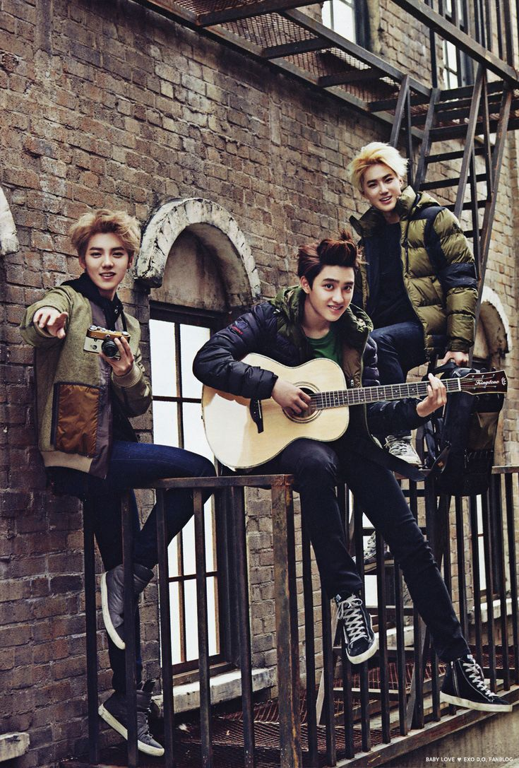 Luhan, D.O. & Suho - Vogue Girl magazine, November 2014 issue