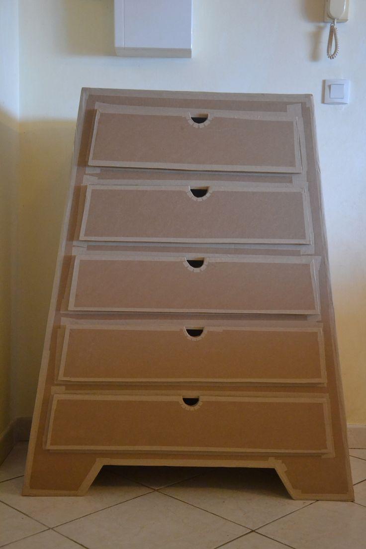 17 best images about meubles en carton on pinterest - Meuble a chaussures en carton ...