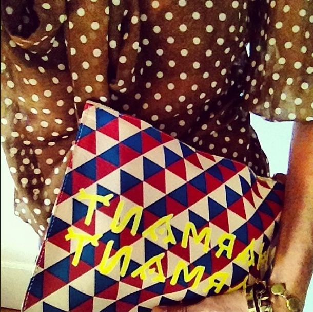 LACMA collab clutch