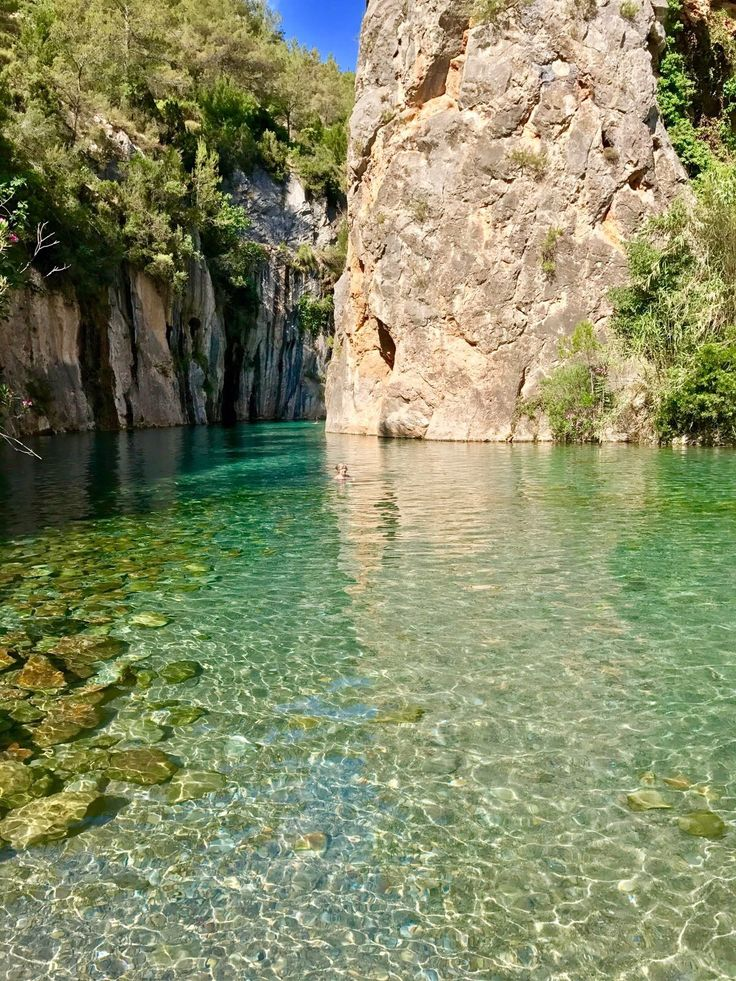 M s de 25 ideas incre bles sobre paisaje rocoso en for Piscinas naturales comunidad valenciana