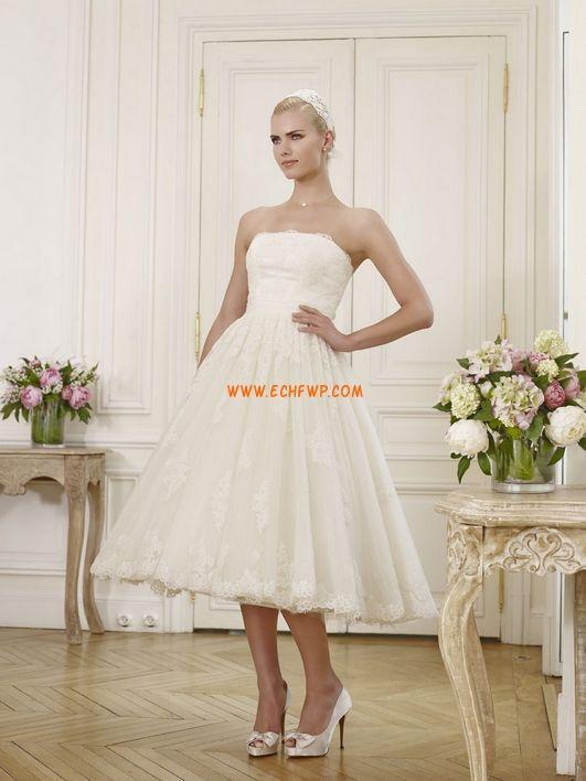 Kostek Bez ramiączek Elegant & Luxurious Suknie ślubne 2012