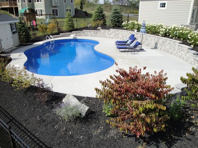 31 best pool ideas images on pinterest small swimming for Pool design rochester ny