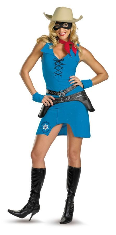 Awesome Costumes Sassy Lone Ranger Costume just added...