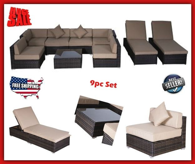 Patio Furniture Sets Clearance Outdoor Sofas & Sectionals On Sale Modern Wicker #PatioFurnitureSetsClearance