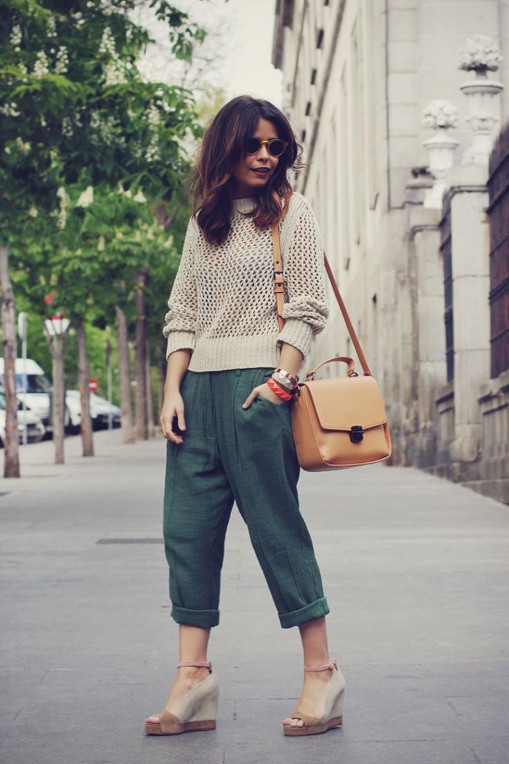 Knitwear Street Style  - pictures, photos, images