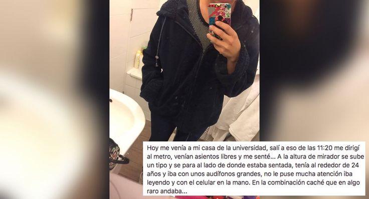 Terror en el metro de Chile: lo que sucede cuando vives un acoso callejero a la vuelta de la esquina