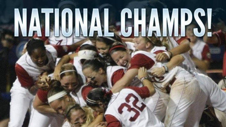 Alabama Crimson Tide Softball - 2012 National Champions!!!!: Tide Rolls, Colleges, Alabama Football, Sports, Tide Softball, Rolls Tide, Crimson Tide, Alabama Softball, National Championship