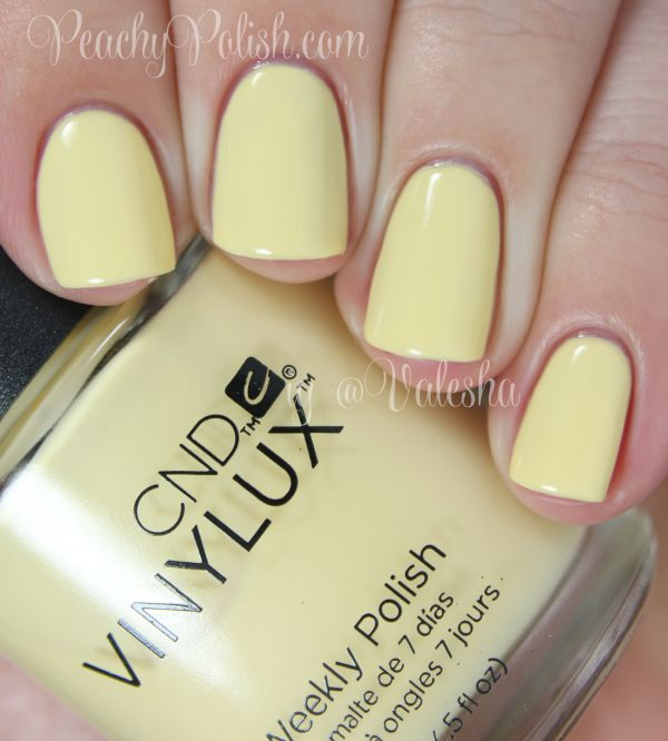 "CND VINYLUX: Spring 2014 Open Road Collection Swatches and Review ""Sun Bleached"""