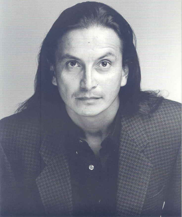 Actor/director  Pato Hoffmann. Photographed by David La Porte.