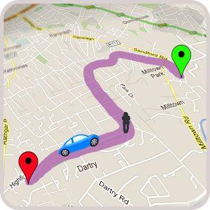 GPS para coche: para encontrar la mejor ruta por carretera Nota: también tiene la posibilidad de ir a pie