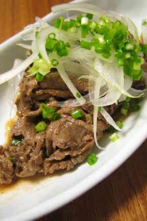 Easy Marinated Beef 簡単おいしい牛肉のさっぱりマリネ