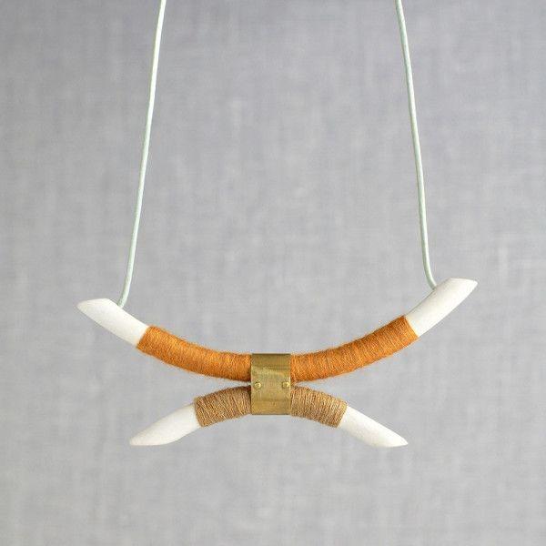Pigeon Toe Ceramic Jewelry. http://design-milk.com/pigeon-toe-ceramic-jewelry/