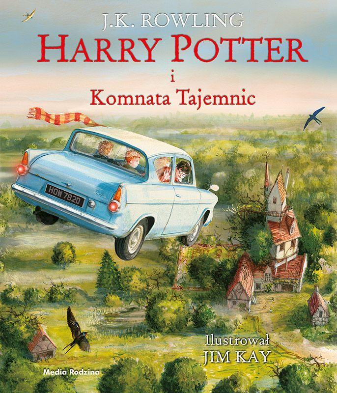 Harry Potter I Komnata Tajemnic Wyd Ilustrowane Media Rodzina Harry Potter Illustrations Chamber Of Secrets Rowling Harry Potter