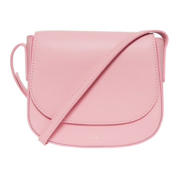 MANSUR GAVRIEL Mini Cross Body Bag (825 CAD) ❤ liked on Polyvore featuring bags, handbags, shoulder bags, bolsos, leather shoulder handbags, leather crossbody, crossbody handbags, crossbody purse and genuine leather handbags