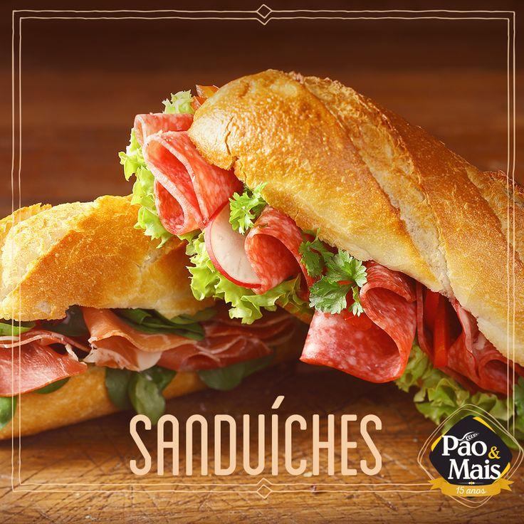 Tá com preguiça de preparar o lanche da tarde? Passa aqui na Pão&Mais. Temos sanduíches deliciosos esperando por você.