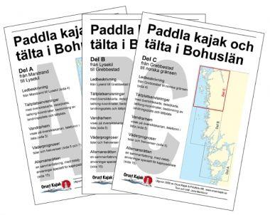 Paddla kajak och tälta i Bohuslän PDF Smartphone