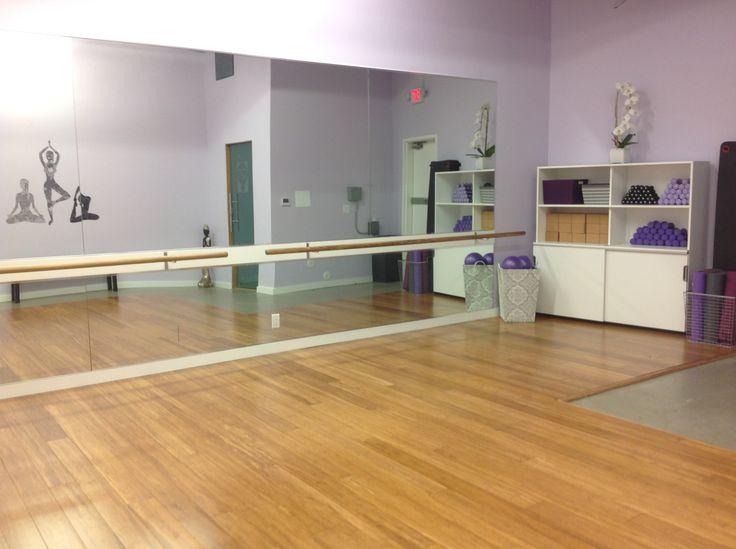 Yoga Amp Barre Room Alvas Ballet Barres And Fixed Wall
