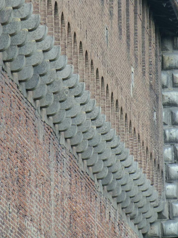 Castello Sforzesco, Milano. Photo by Jeff Jansen