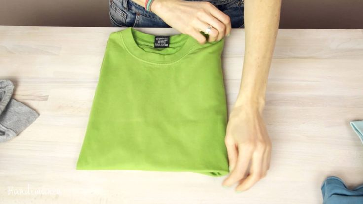 Stuck in T-SHIRT? Learn how to fold a T-shirt like a Pro.