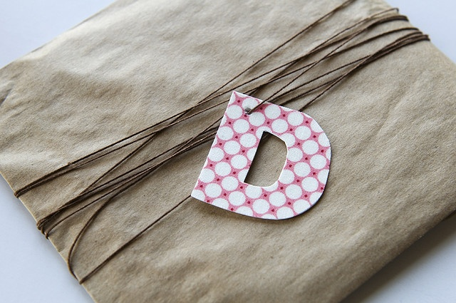 letter wrapping.