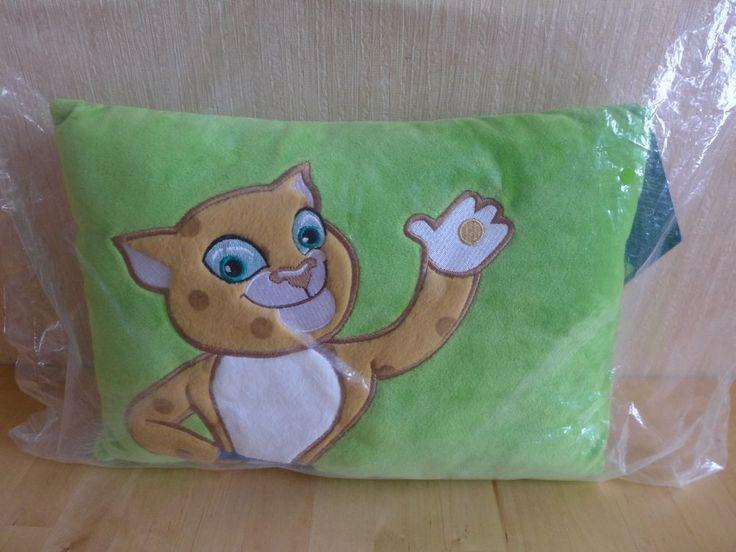 GT5985 Decorative Green Plush Pillow LEOPARD Mascot SOCHI 2014 OLYMPICS RUSSIA  | eBay