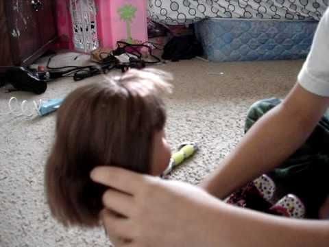 """How To Attach Wig To Any 18"""" Doll With Rooted Hair Part 1"""