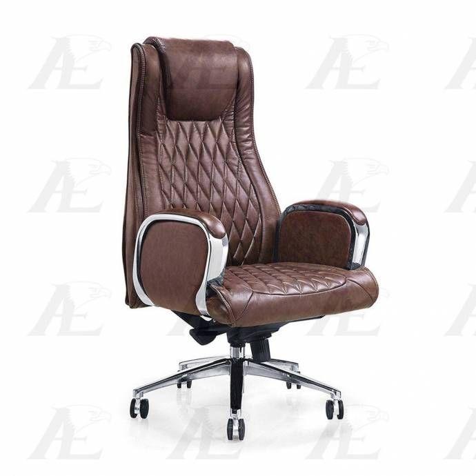 American Eagle Furniture Ys1202a Brown Executive Chair Pu Modern Ys1202a Eagle Furniture Furniture Executive Chair