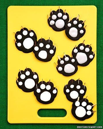 Black Cat Paw Cookies Recipe