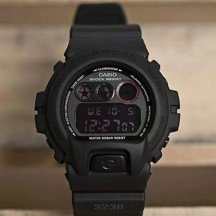 Double tap if you love #GSHOCK! Model No. DW-6900MS-1
