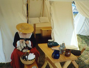 Merveilleux Camp Furniture For The Reenactor