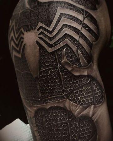 Tatuajes del hombre araña iron man batman y más ...