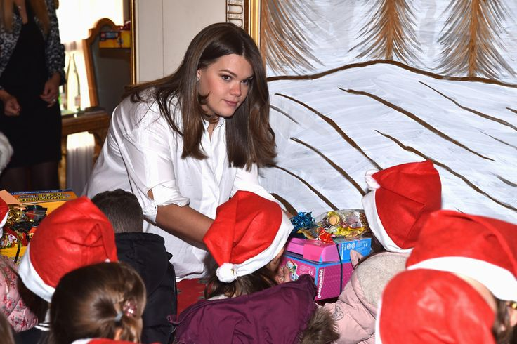 Camille Gottlieb Photos Photos - Camille Gottlieb attends the annual Christmas gifts distribution at Monaco Palace on December 14, 2016 in Monaco, Monaco. - Christmas Gifts Distribution At Monaco Palace in Monte-Carlo
