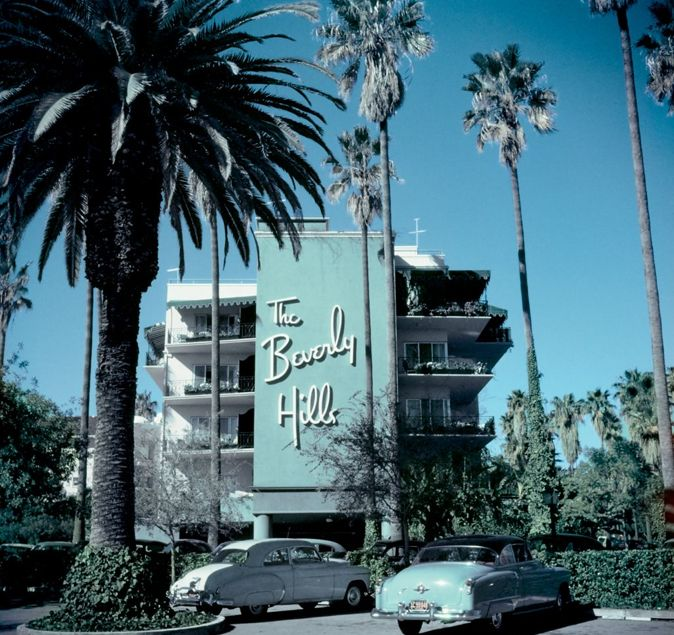 The hotel. The cars. Such beautiful design.