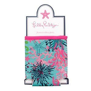 Lilly Pulitzer Koozie Drink Can Cover Dirty Shirley by Lilly Pulitzer. $8.00. Keep your can cool through happy hour with an eclectic Lilly Pulitzer Hugger from Lifeguard Press in the Dirty Shirley print. A perfect beach or backyard companion, this designer beverage sleeve is made with durable neoprene to keep drinks cooler longer than your average beverage sleeve. Works as a bottle sleeve and a can sleeve!