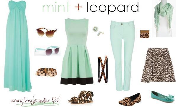 Mint   leopard.