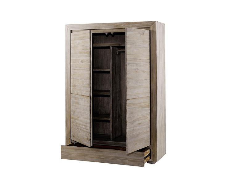 szafa z drewna tekowego