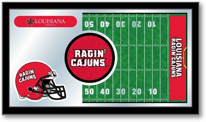 Louisiana at Lafayette Ragin' Cajuns Football Team Sports Mirror at SportsFansPlus.com. Visit website for details!