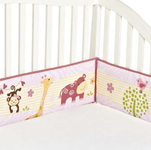 Bedtime Originals Lil' Friends 4 Piece Bumper, Lavender/P... https://www.amazon.com/dp/B006LKWHOK/ref=cm_sw_r_pi_dp_XAtLxbHMX5C1D