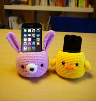 Crochet Cell Phone/iPhone 6 Plus Holder pattern Free