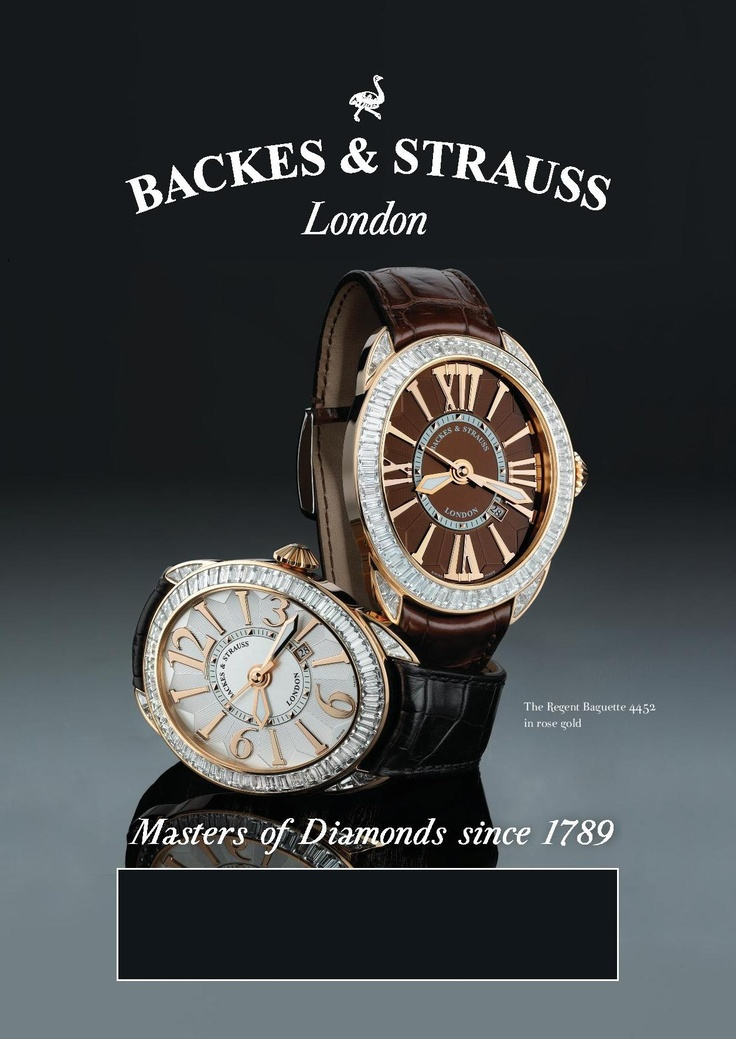 The Regent Baguette Collection - For more information, visit www.backesandstrauss.com