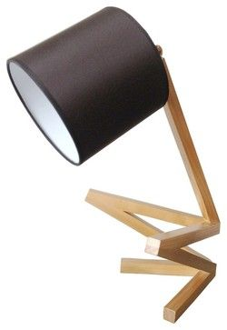 Creative Squat Man Wooden Table Lamp scandinavian-table-lamps
