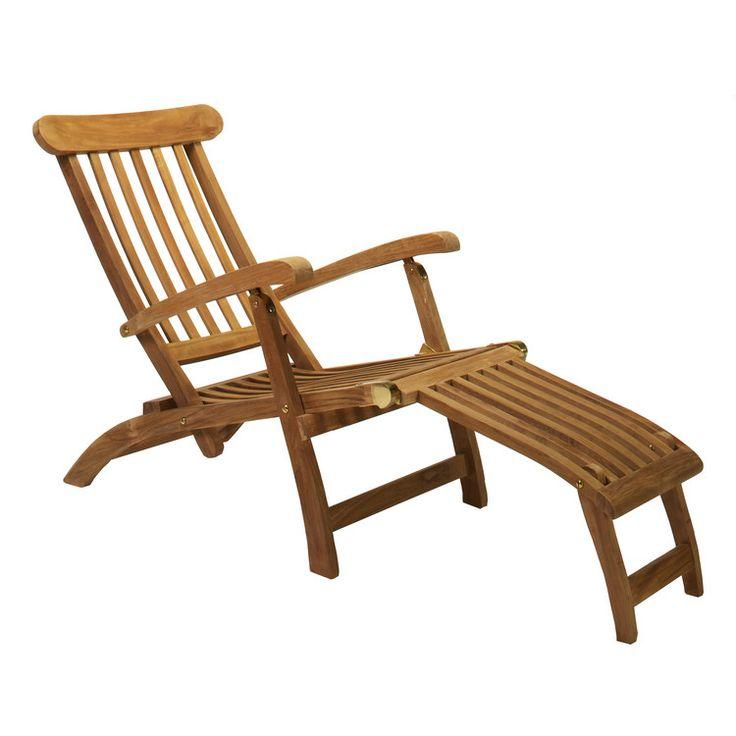 Gartenmöbel: Garten- Deckchair Queen Victoria Classic Teak Sonnenliegen, ab 269.00 EUR (10.06.2017) günstig bei hauptstadtmoebel.de kaufen.