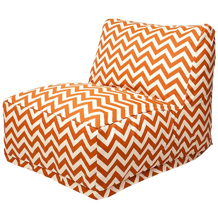 Rockbridge Beanbag Burnt Orange Made By Bean Bags Great Kids Chairs