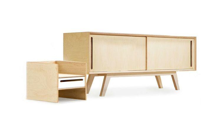 Large Sideboard + Module 3 by BRANKA BLASIUS BUREAU | MONOQI