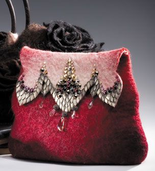 Anat Gelbard's felted bag