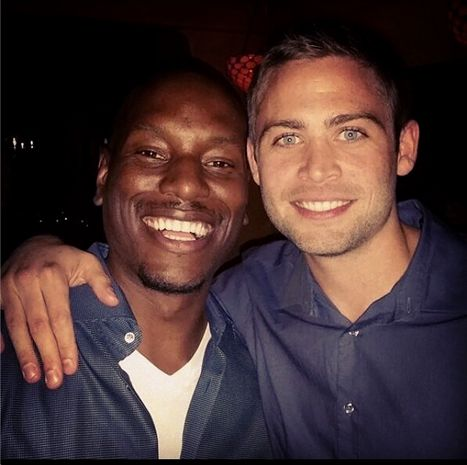 """Tyrese Fetes """"Emotional"""" Fast Seven Wrap With Paul Walker's Brothers - Us Weekly"""