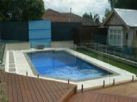 The Same #GranitePaving used with Bluestone Pool Coping Tiles as an offset. From a different angle